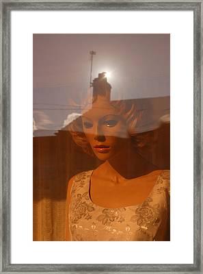 Leja Troubled Framed Print by Jez C Self