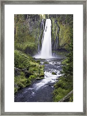 Lemolo Falls Framed Print