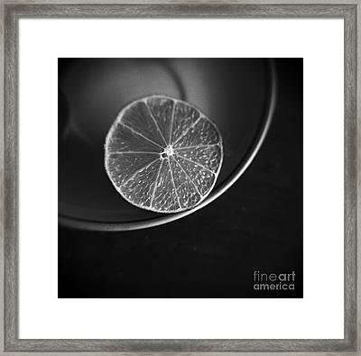 Lemon Framed Print by Andrey  Godyaykin
