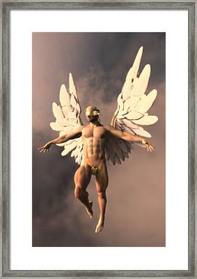 Lemon Angel Framed Print