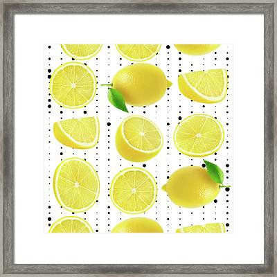 Lemon  Framed Print by Mark Ashkenazi