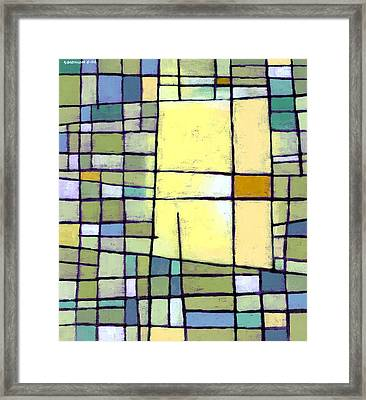 Lemon Squeeze Framed Print