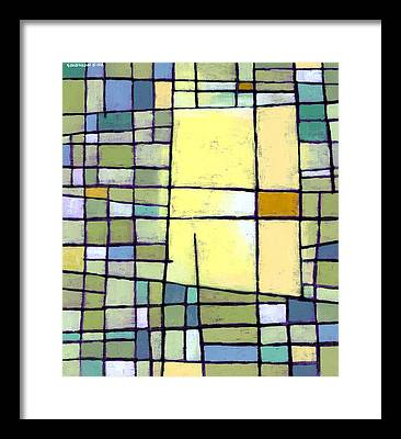 Yellow Paintings Framed Prints