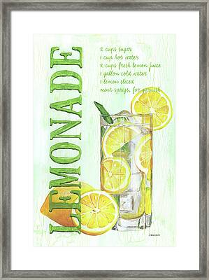 Lemonade Framed Print by Debbie DeWitt