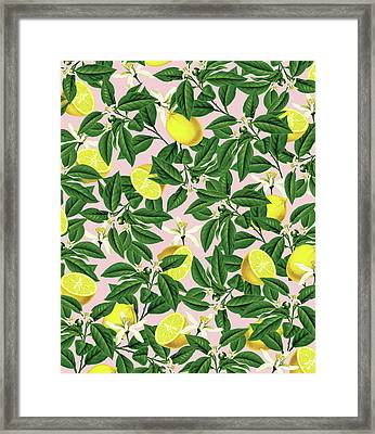 Lemonade Framed Print