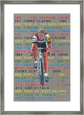 Lemond 86 Framed Print by George Evans