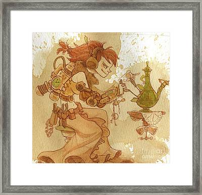 Lemongrass Framed Print by Brian Kesinger
