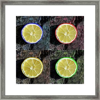 Lemons Framed Print by Rob Hawkins