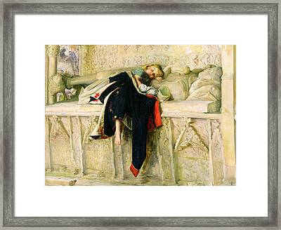 L'enfant Du Regiment Framed Print