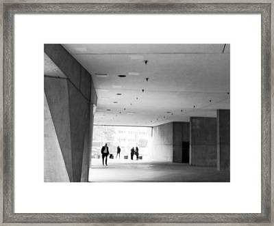 L'enfant Plaza II Framed Print by Julie Niemela