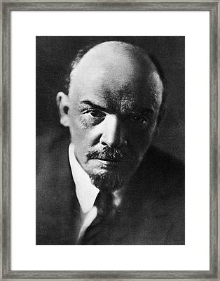 Lenin Framed Print by Russian School