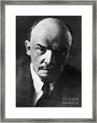 Lenin Framed Print
