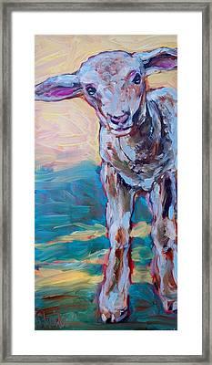 Lennie Framed Print by Sheila Tajima