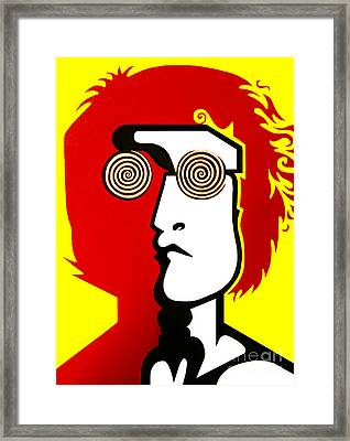 Lennon Day Tripper Framed Print