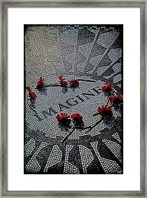 Lennon Memorial Framed Print