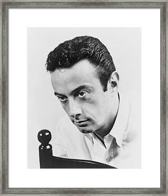 Lenny Bruce 1925-1966, Controversial Framed Print by Everett