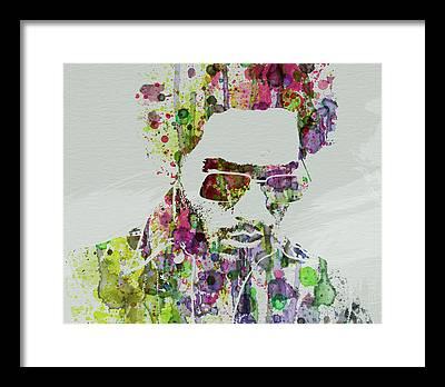 Lenny Kravitz Framed Prints