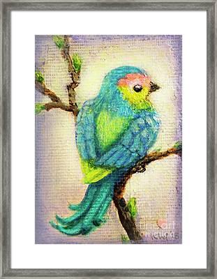 Lenten Love Bird Framed Print