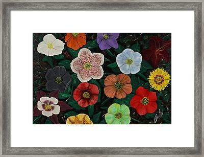 Lenten Roses Framed Print