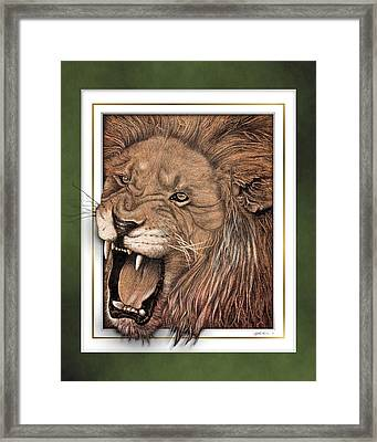 Leo Framed Print by Jim Turner