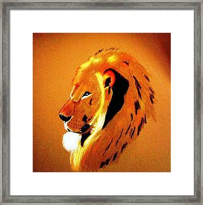 Leo2 Framed Print