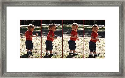 Leon Riley Framed Print by Mandy Shupp