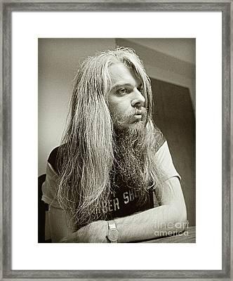 Leon Russell 1970 Framed Print