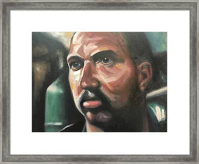 Leon Framed Print by Seamas Culligan