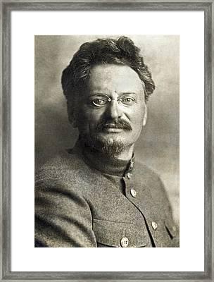 Leon Trotsky Framed Print