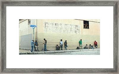 Leona Street Framed Print