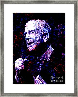 Leonard Cohen Framed Print by Tammera Malicki-Wong