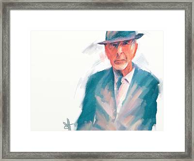 Leonard Framed Print by Scott Waters
