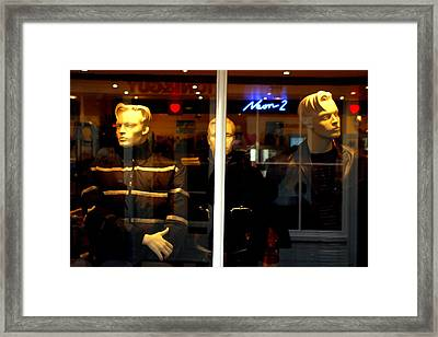 Leonardo And Mates Framed Print by Jez C Self