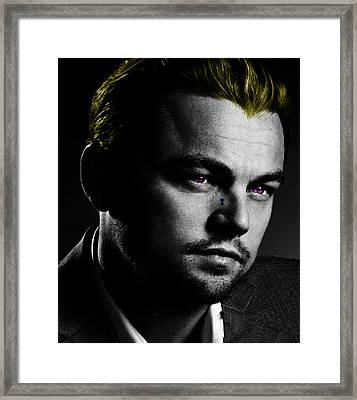 Leonardo Di Caprio Framed Print