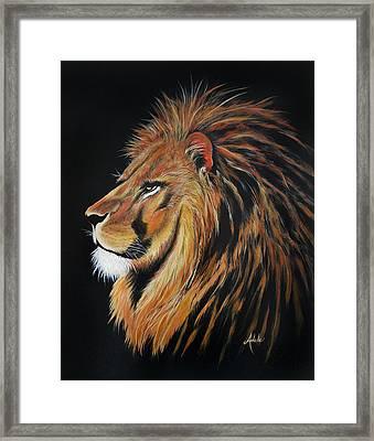 Leonardo Lion Framed Print
