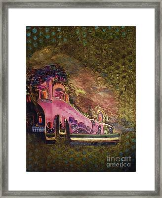Leonardo's Magic Slipper Framed Print