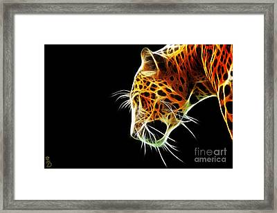 Leopard Framed Print by The DigArtisT
