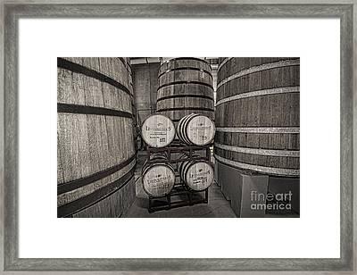 Leopold Bros Barrels Framed Print by Keith Ducker