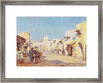 Framed Print featuring the photograph Leopold Carl Muller 1887 by Munir Alawi