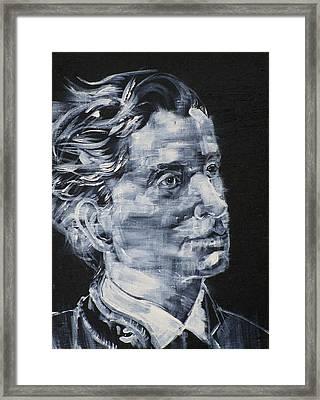 Leopold Von Sacher-masoch Framed Print by Fabrizio Cassetta