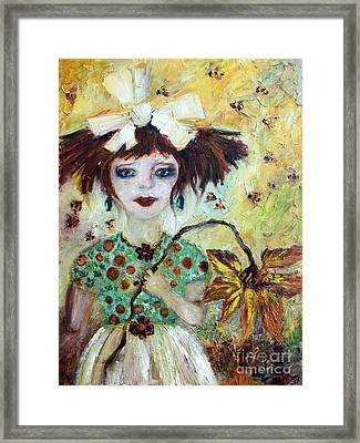 Leora #1 Framed Print by Ginette Callaway