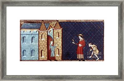 Leper House, C1220-1244 Framed Print by Granger