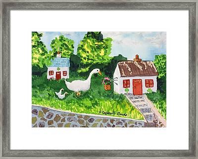Leprechaun House Framed Print