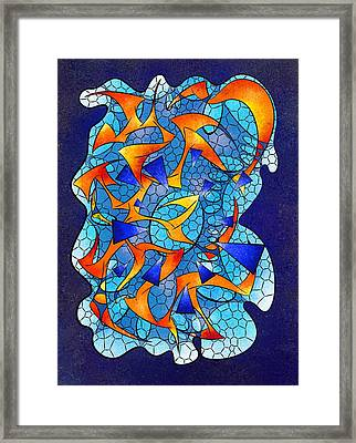 Leptoniussa V2 - Digital  Abstract Framed Print by Cersatti