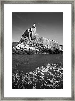 Lerici Framed Print by Floyd Menezes