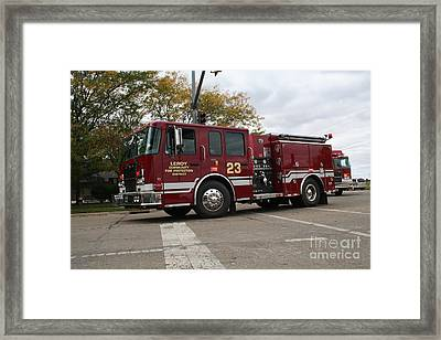 Leroy Fpd Framed Print by Roger Look