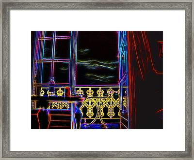 Framed Print featuring the photograph Les Ailes De La Nuit by Andreas Thust
