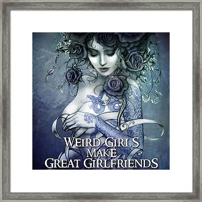 Les Belles Dames Framed Print