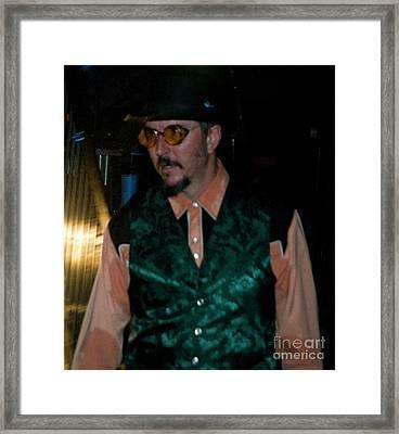 Les Claypool At Bonnaroo 2010 Framed Print