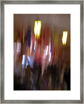 Les Couleurs Du Souk I Framed Print by Artecco Fine Art Photography